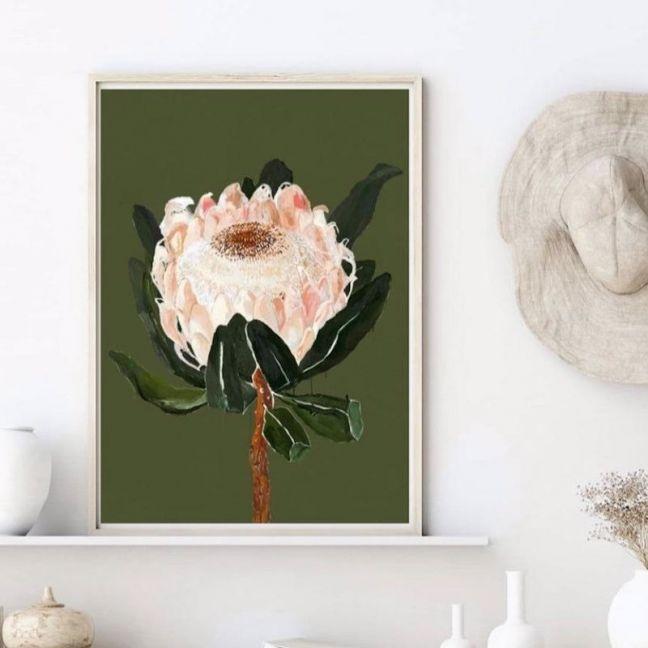 Settle Petal   Art Print by Gotti Lotti