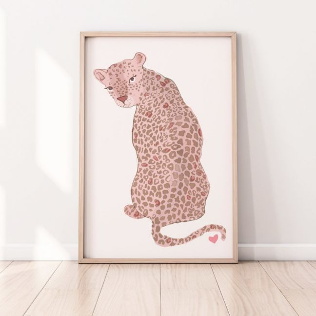 Sharma the Leopard | Pink