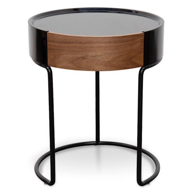 Silo Bedside Table | Walnut | CLU Living