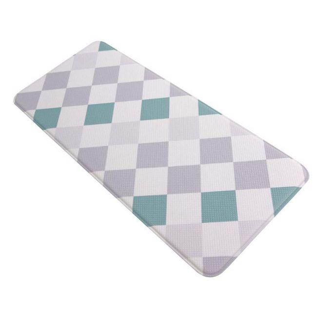 Simple Diamond 120x44 cm | Anti Fatigue Mat | Kitchen, Laundry & Bathroom Mat | Double Sided