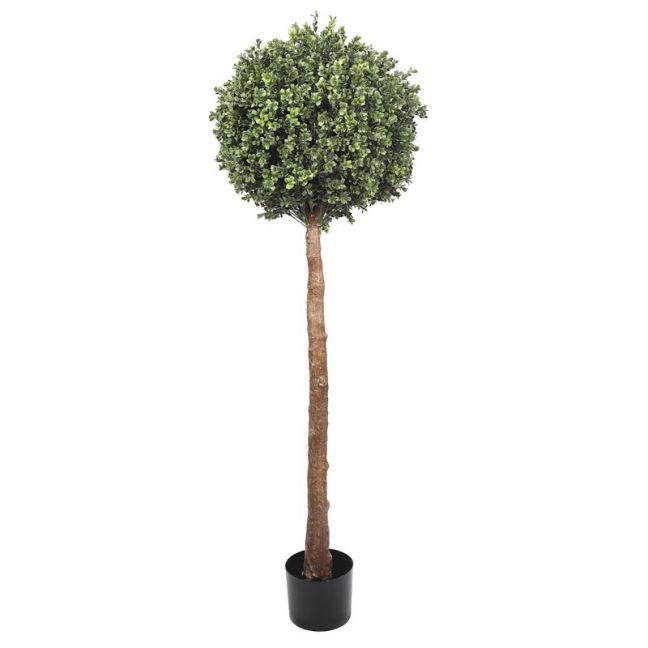 Single Ball Topiary Faux Tree   150cm   UV Resistant