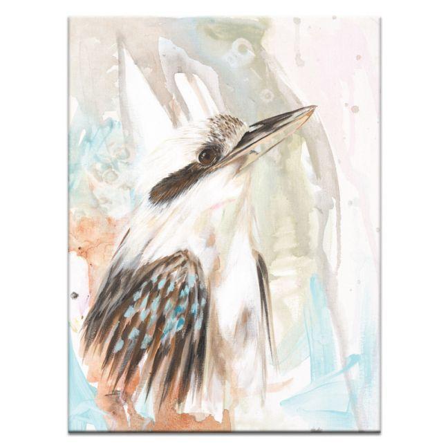 Skyla the Kookaburra   Amanda Skye-Mulder   Canvas or Print by Artist Lane