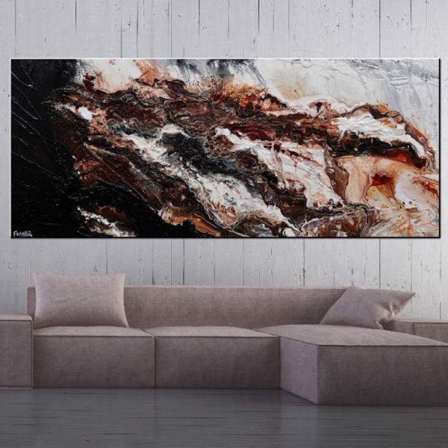 Slated Marble by Franko | Art Lovers Australia | Ltd. Edition Canvas Print