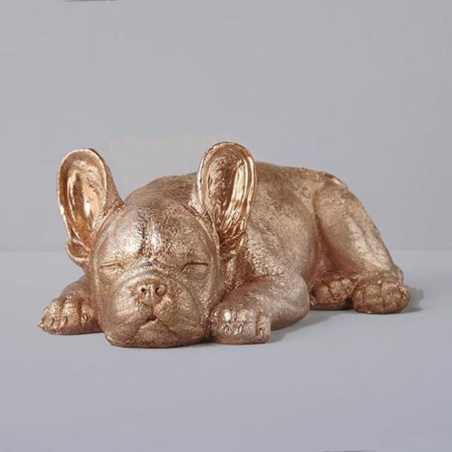Sleeping Frenchie | Gold