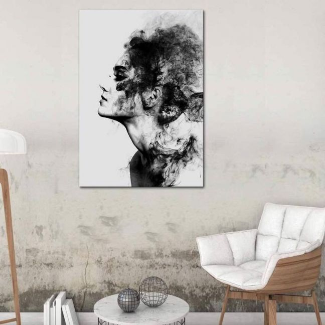 Smokey Final   Canvas Print  by United Interiors