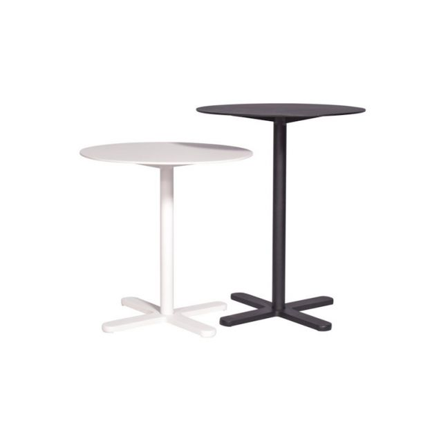 Somerset Outdoor Side table, Black or White