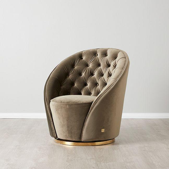 Sonja Chair | Velvet | Olive