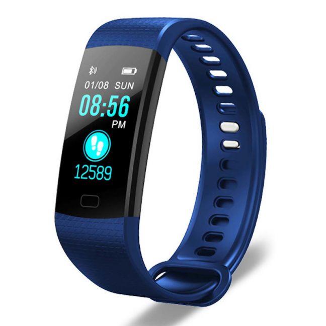 Sport Smart Watch Health Fitness Wrist Band Bracelet Activity Tracker Blue