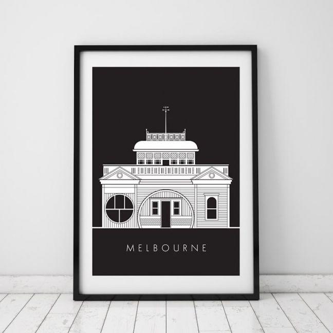 St Kilda Pier   Print