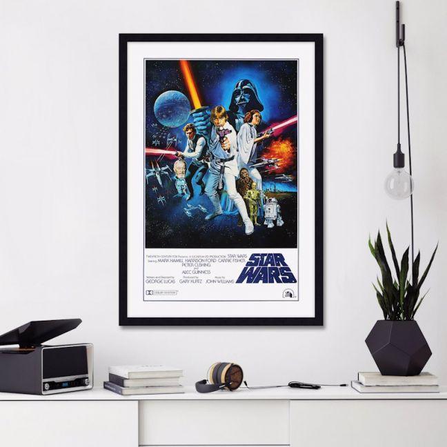 Star Wars A New Hope 1977 Style C   Unframed Art Print