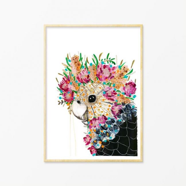 Stevie | Art Print by Grotti Lotti