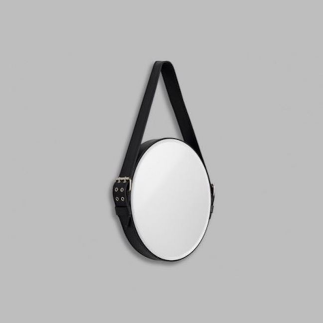 Strap Mirror | Taupe or Black