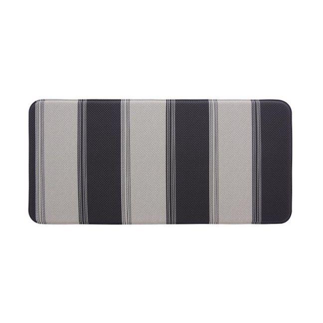 Stripe Deep Cavern 120x44 cm | Anti Fatigue Mat | Kitchen, Laundry & Bathroom Mat | Double Sided