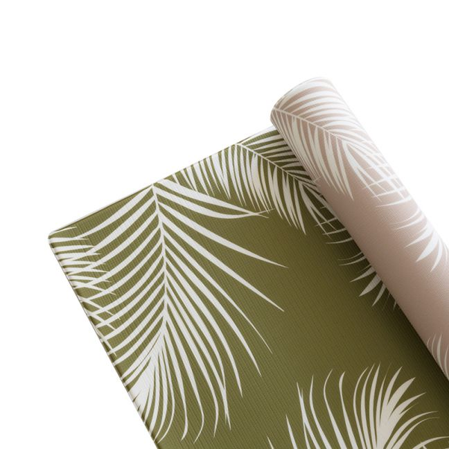 Summer Palms in Olive & Rose Dust | Play Mat