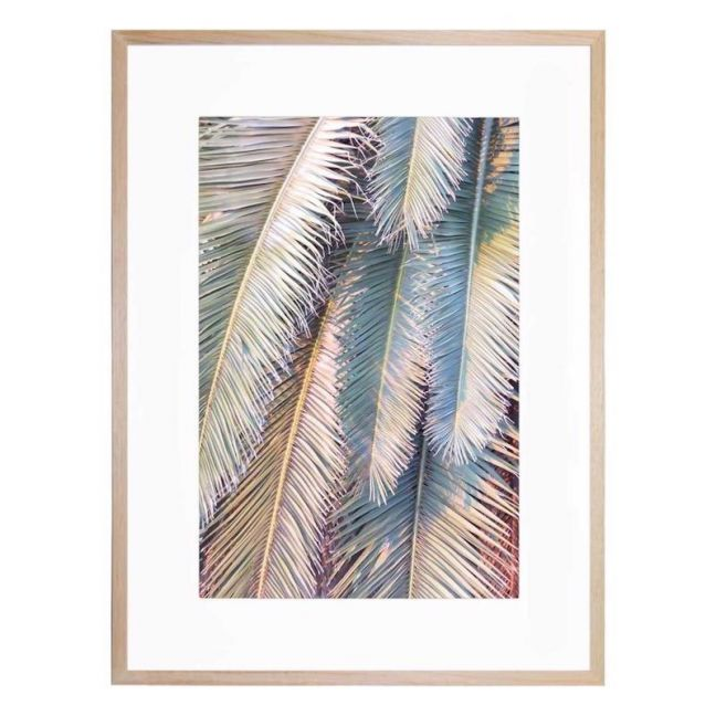 Sunset Palm | Framed Print | by United Interiors