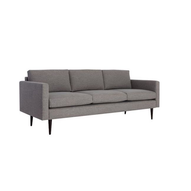Swyft | Model 01 Linen 3 Seater Sofa | Shadow