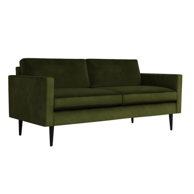 Swyft | Model 01 Velvet 2 Seater Sofa | Vine
