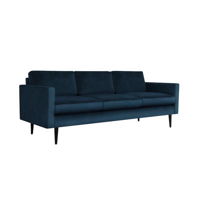Swyft   Model 01 Velvet 3 Seater Sofa   Teal