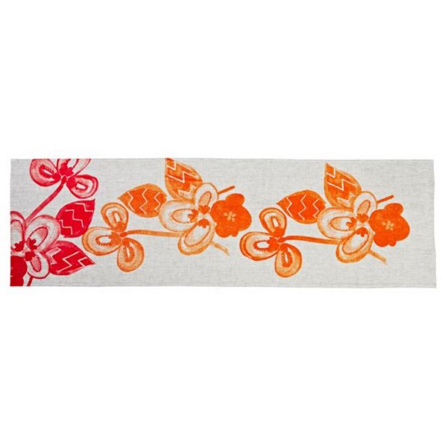 Table Runner | Porcelain Pink and Orange | by Bonnie and Neil