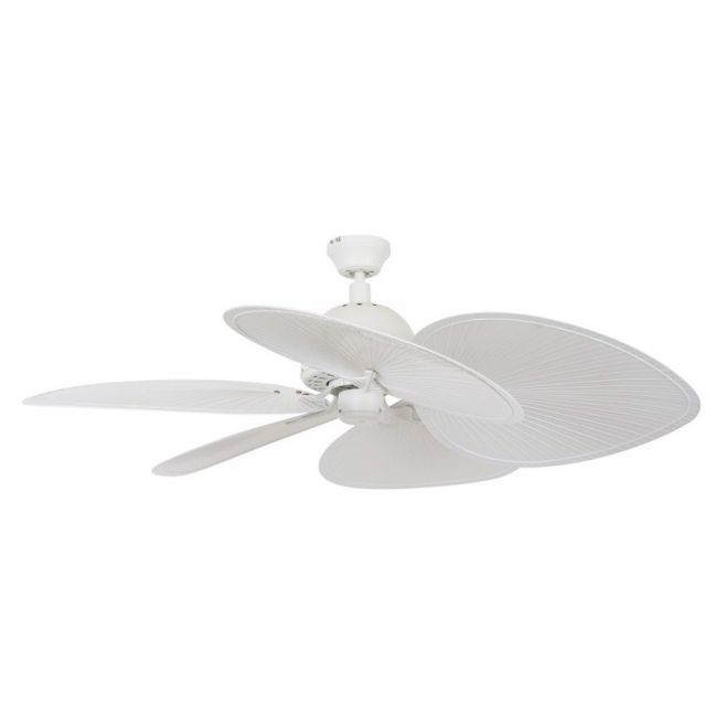 Tahitian Fan in Off White | By Beacon Lighting