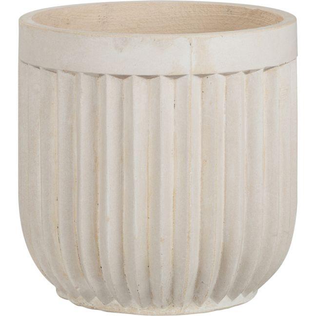 Tampa 37x37cm Concrete Planter | Milky White | Schots | Pre Order