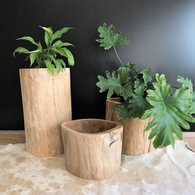Teak Planter