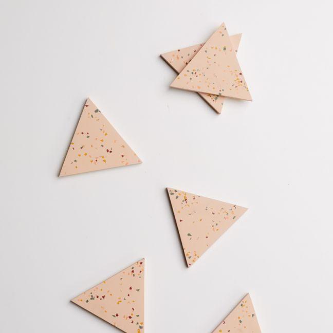 Terrazzo Coasters/ Trivet   Salt   Capra Designs