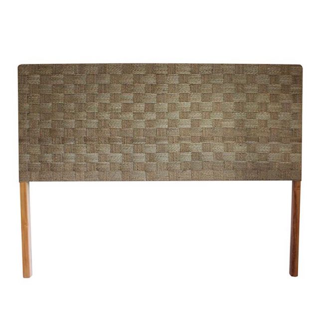 The Agnes Headboard   Seagrass   King Size   by Coco Unika