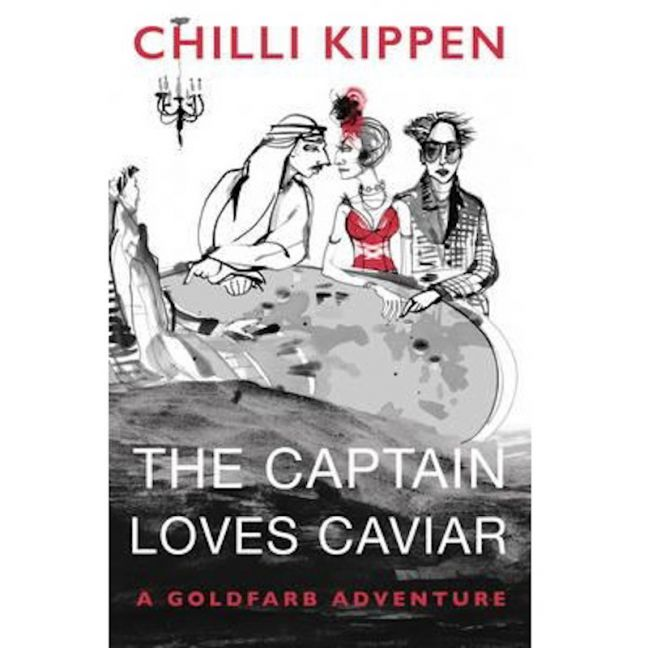 The Captain Loves Caviar | Coffee Table Book