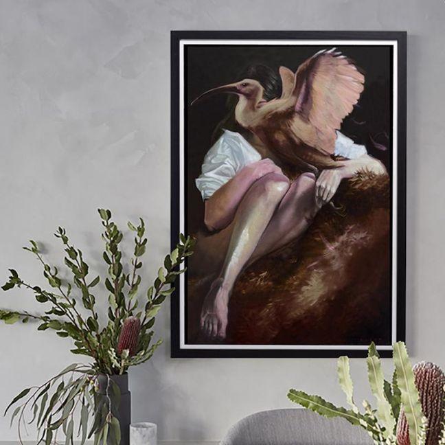 The Catcher Print | Unframed | by Steve Cross