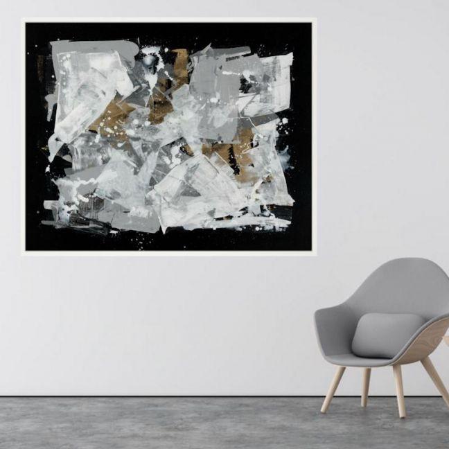 The Danielle | P1004-298 | Framed Canvas Print | Colour Clash Studio