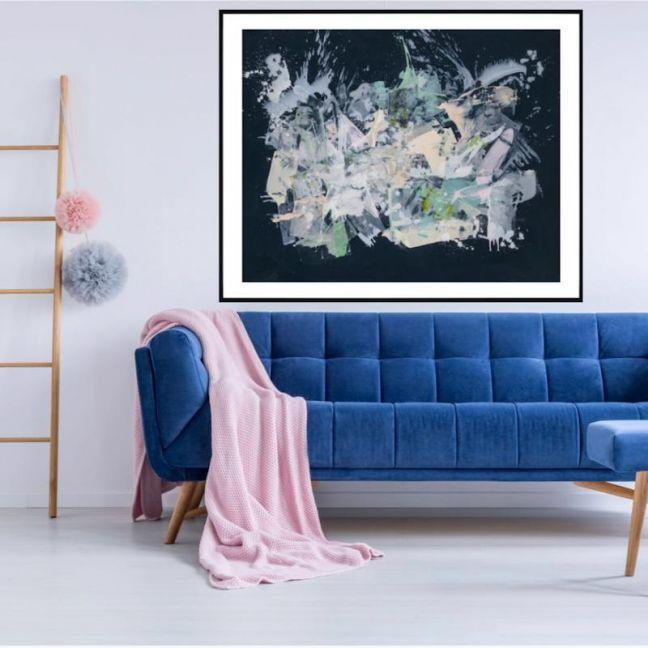 The Danielle | P1006-228 | Framed Print | Colour Clash Studio