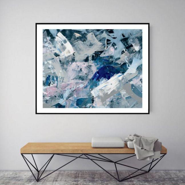 The Danielle   P1006-230-1   Framed Print   Colour Clash Studio