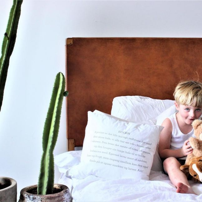 The Fransen Headboard | Full Leather | Single | by Coco Unika
