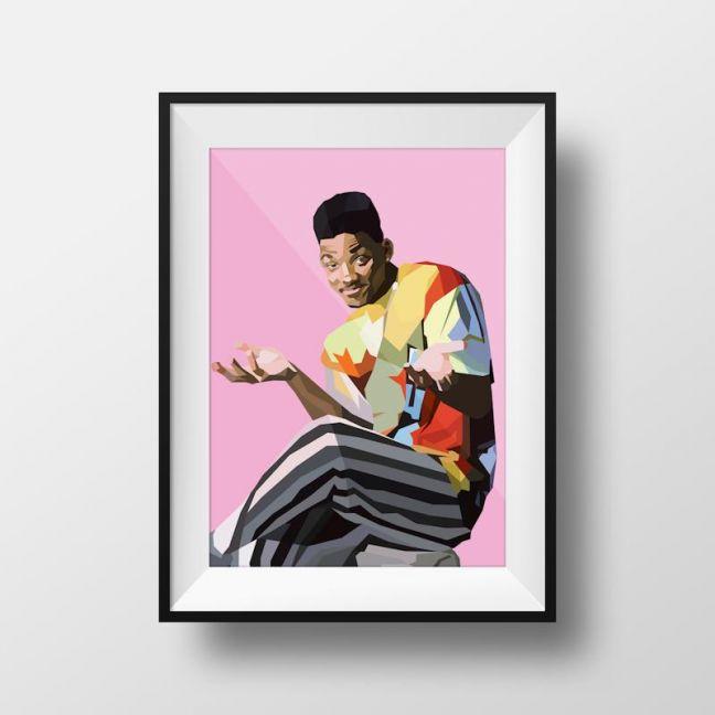 The Fresh Prince | Art Print | Framed and Unframed