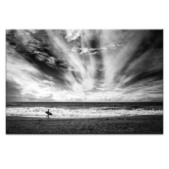 The Lonely Surfer | Prints and Canvas by Photographers Lane