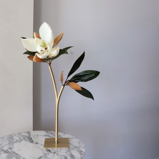 The Twig   Solid Brass Vase   By Coco Unika