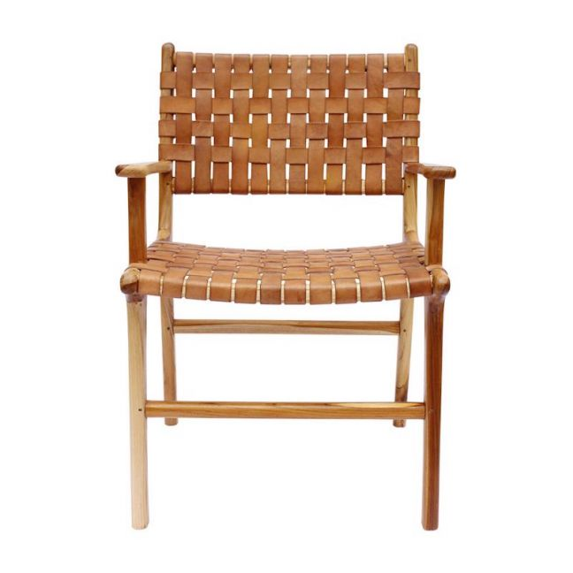 The Ulla Chair   Antique Tan Leather   by Coco Unika