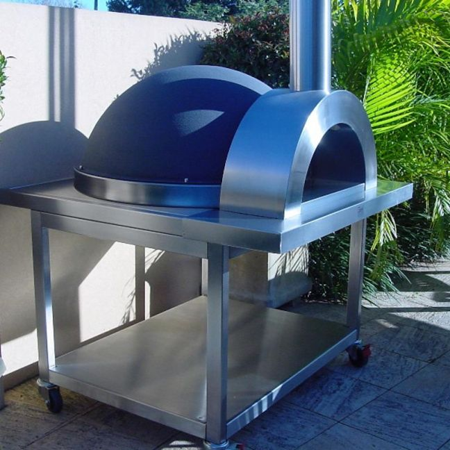 The Zesti Wood Fired Pizza Oven by Aussie Heatwave Outdoor Fireplaces