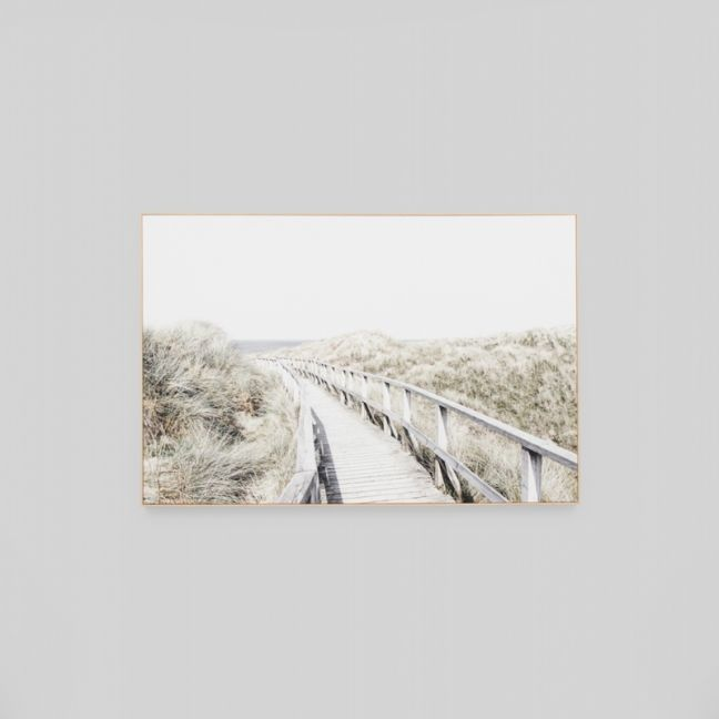 To The Shore | Framed Canvas