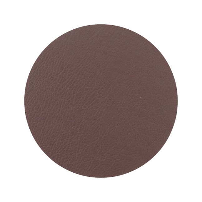 Togo Faux Leather Coaster Set | Brown | CLU Living