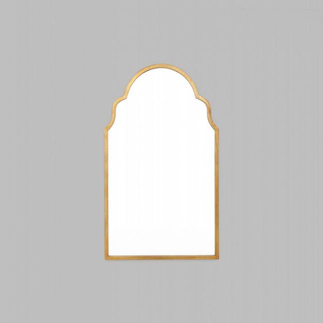 Trefoil Arch Bronze Mirror