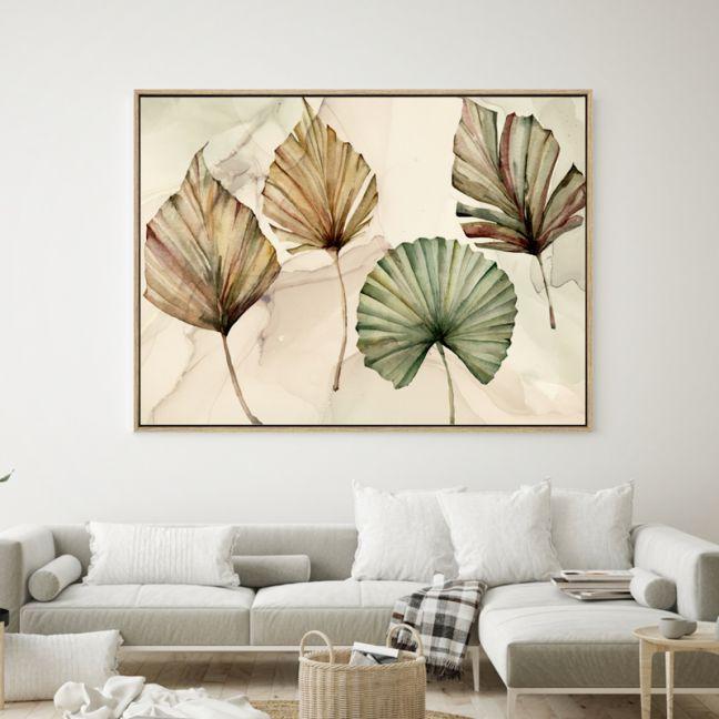 Tropical Autumn | Shadow Framed Wall Art