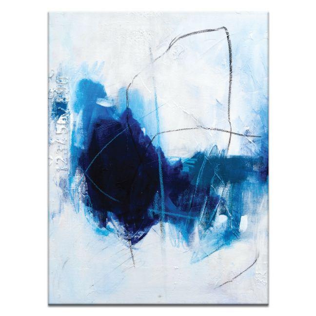 True Blue | Julie Ahmed | Canvas or Print by Artist Lane