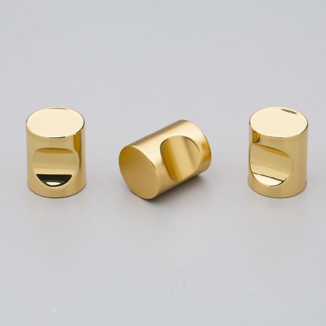 Tuba Knob | Solid Brass | Muted Matt Lacquer