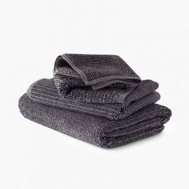 Tweed Coal Towels   Hand Towel