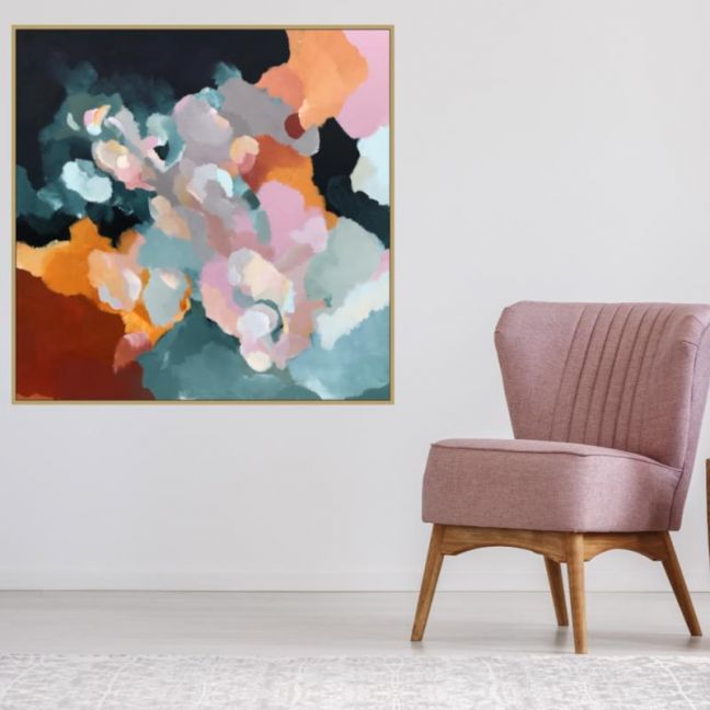 Up In The Clouds | Framed Canvas | Limited Edition Print by Lauren Danger