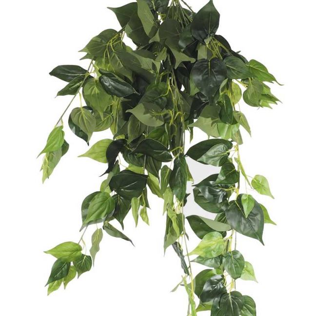 UV Philodendron Garland Bush | 100cm