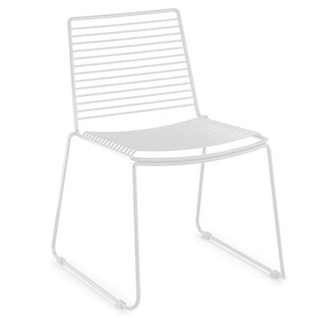 Velletri White Indoor Outdoor Solid, White Patio Dining Chairs