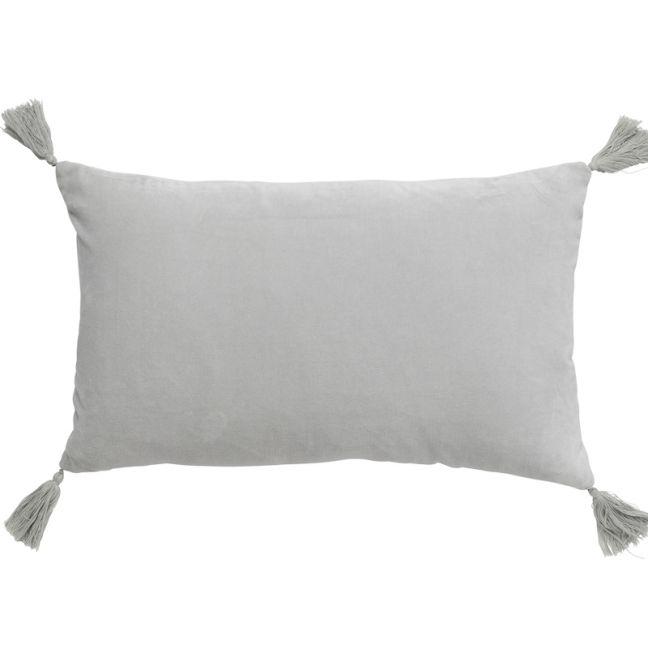 Velvet Petite Cushion | Silver